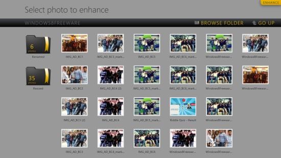 Enhance - Folder View