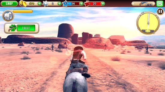 Six-Guns: Gameplay