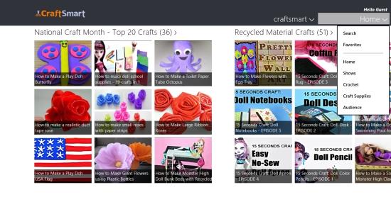 CraftSmart - Options