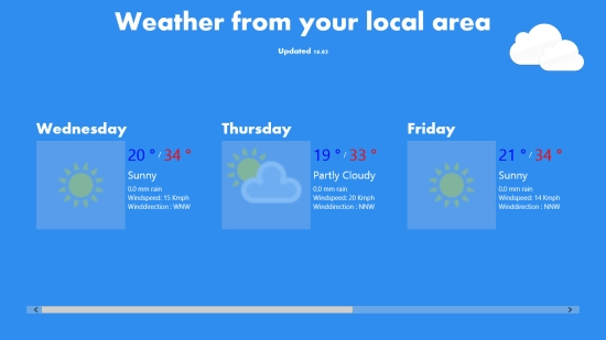 My Weather - Local weather details