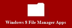 Windows 8 File Manager Featured
