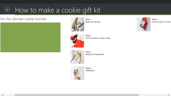 Cookie Recipes - Making a cookie gift kit
