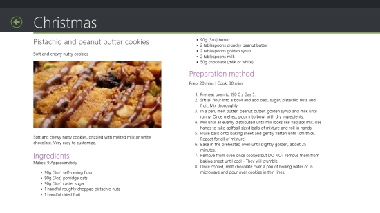 Cookie Recipes - Recipe details