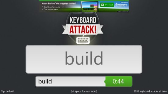 Keyboard Attack - Game Play