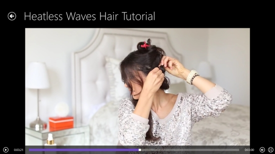 Luxy Hair - Playing a Hairstyle Video tutorial