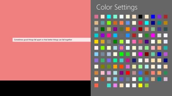 QuoteWallpaper - Color Settings