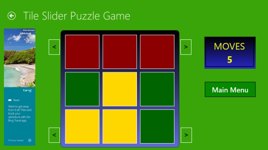 Tile Slider - Game Play