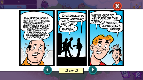 Archie: Riverdale Rescue - Storyline