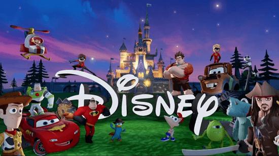 Disney Infinity: Toy Box - Start Screen