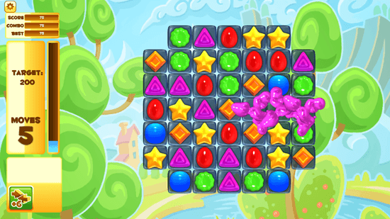 Jelly Smash with Angry Gran - Game Play