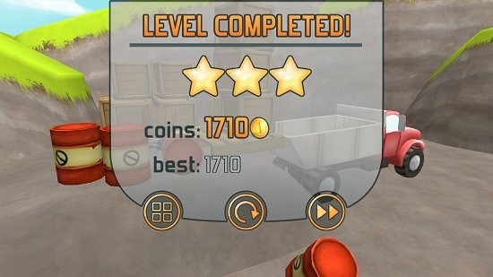Fail Hard Level Completed
