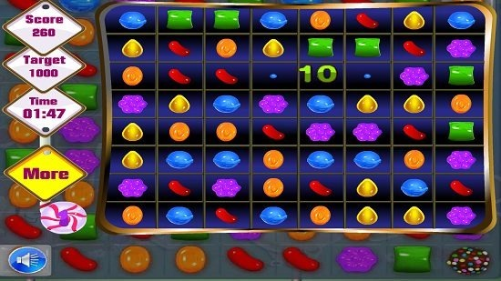 Candy Crush Saga Deluxe link matched