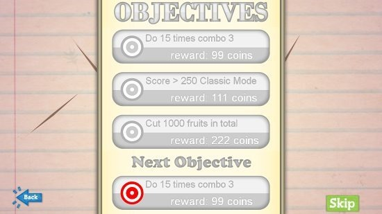 Pencil Blade game objectives