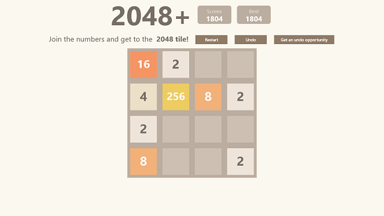 2048  Gameplay