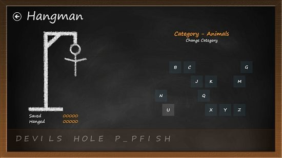Hangman HD - Free gameplay