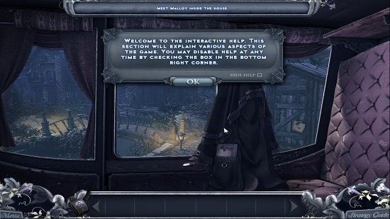 Haunted Past Interactive Help