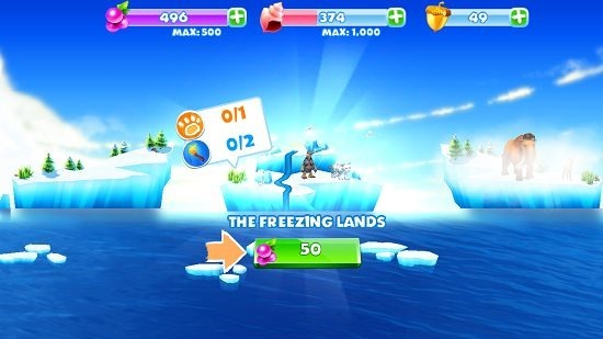 Ice Age Adventures Select Island
