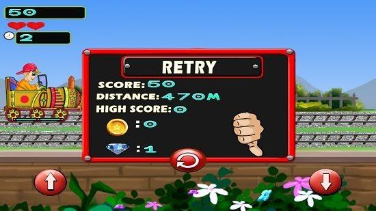 Train Runner Game performance