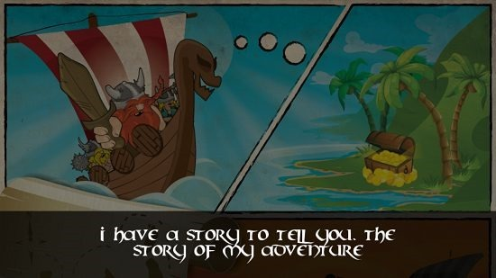 Viking The Adventure game introduction