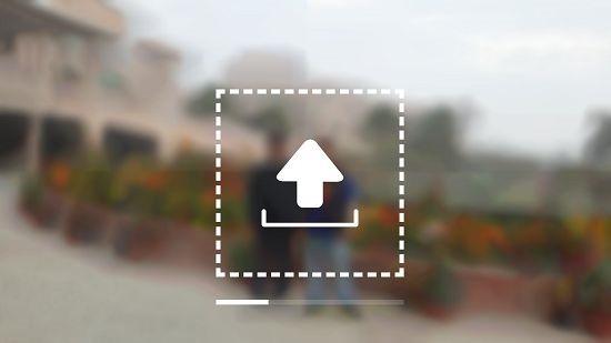 Blur image blurred