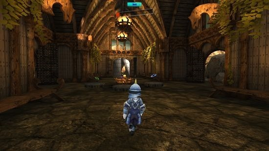 Dungeon Mystery dungeon scene