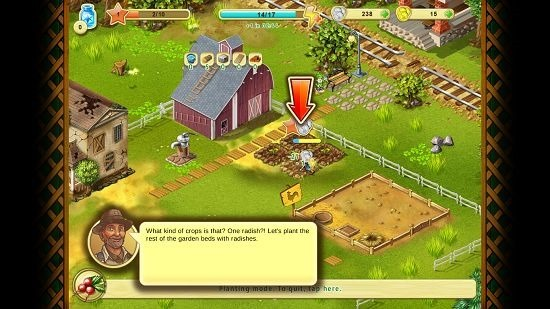 Farm Up energy and coin expenditure shown