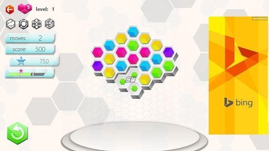Hexic combo created
