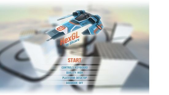 Hexoid 3D main screen