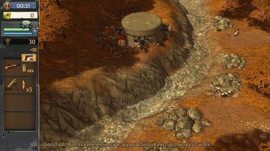 Hills Of Glory 3D enemy attack