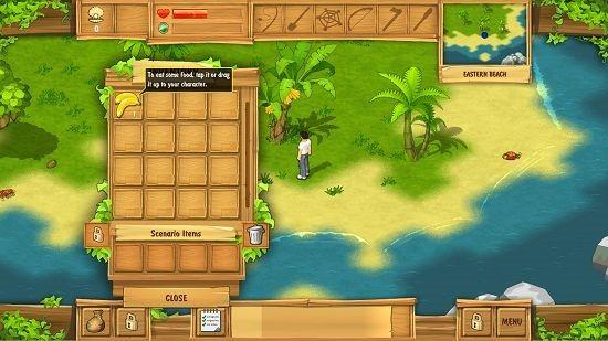 The Island Castaway inventory