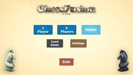 Chess Fusion Free Main Screen