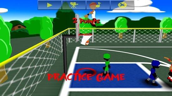 Funky Hoops! gameplay