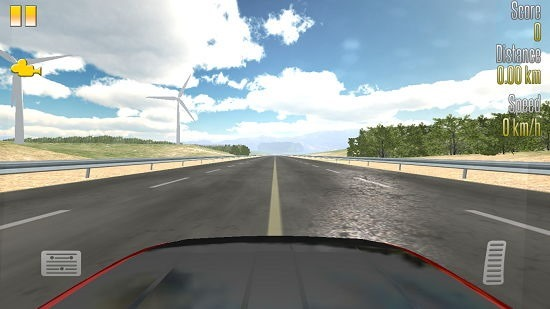 Highway Racer camera angle