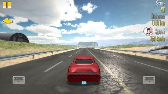 Highway Racer gameplay