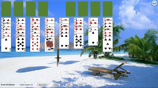 Solitaire Collection Freecell gameplay