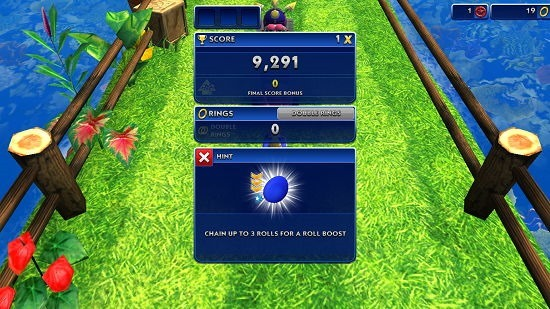 Sonic Dash score