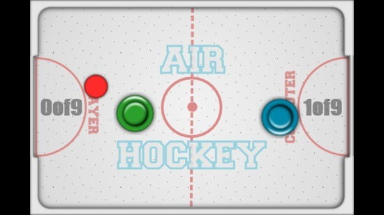Air Hockey Gameplay