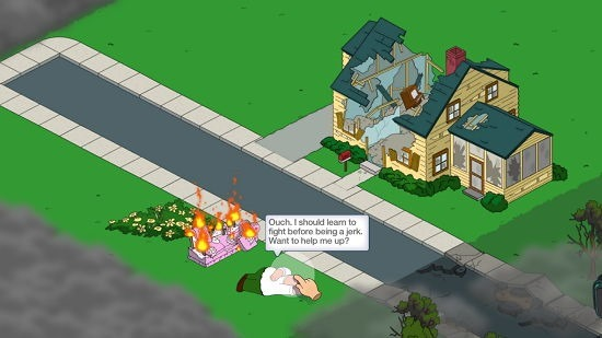 Family Guy The Quest For Stuff Gameplay