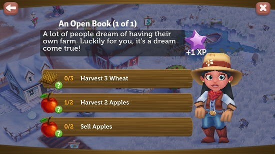 Farmville 2 Country Escape objectives