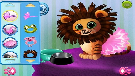 Kitty Cat Pet Dress Up And Play cat dress up gameplay