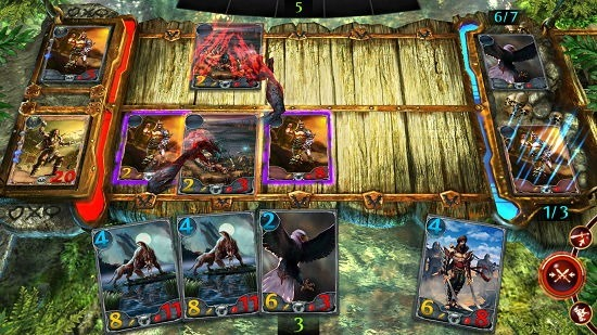 Order & Chaos Duels card attack