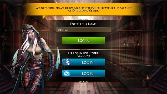 Order & Chaos Duels player name