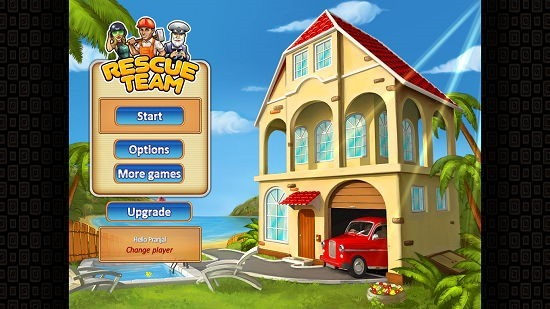 Rescue Team Lite main menu