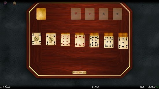 Solitaire Magic main screen