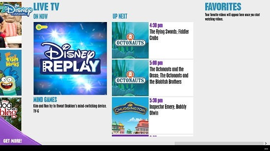 WATCH Disney Channel TV Schedule