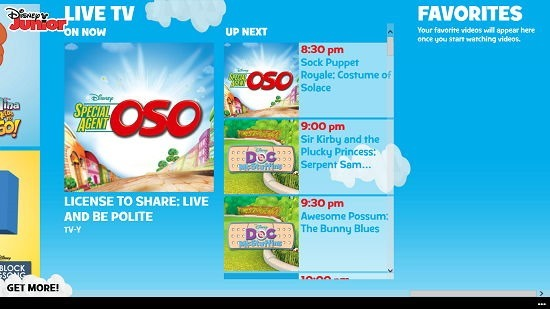 WATCH Disney Junior live TV schedule