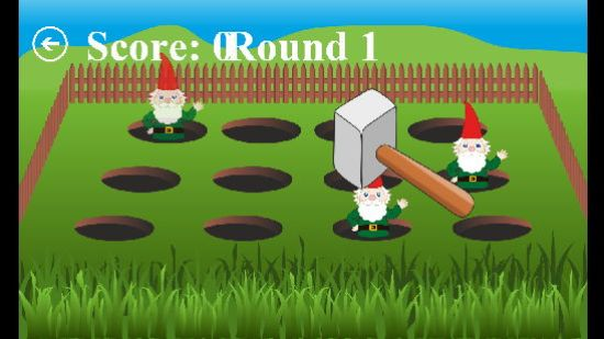 Whack A Gnome Gameplay