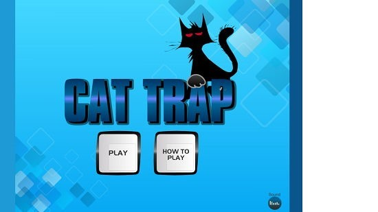 Cat Trap Main Screen