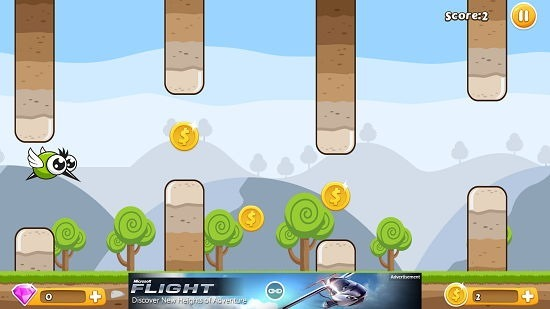 Flap Flap Monster Gameplay In Action