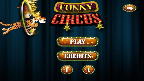Funny Circus HD Free main screen